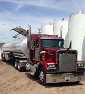 Dehn Oil truck